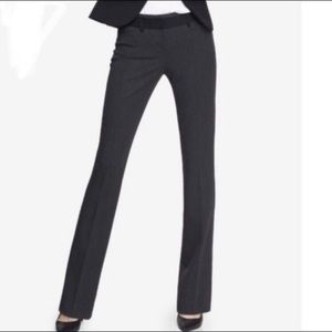 """NEW EXPRESS """"Editor"""" Pants in Grey Tux"""